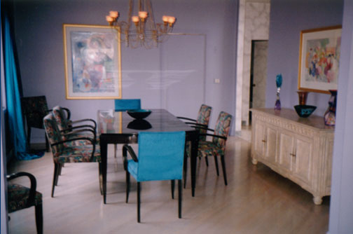 Fran Bilus Dakota Jackson Dining Room