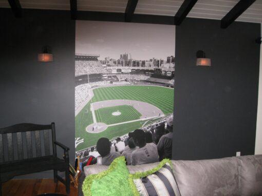 Yanez Baseball Mural