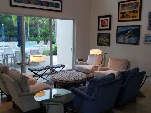 Emily & Steve  Living Room