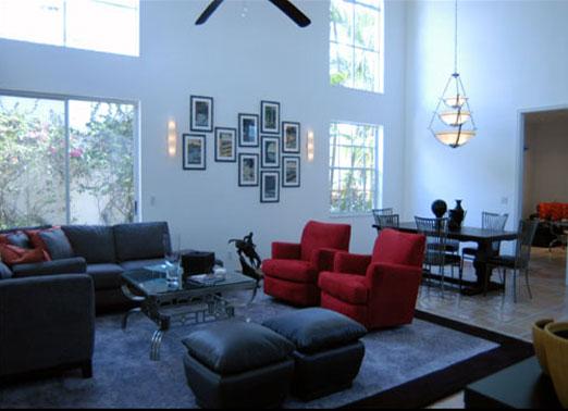 M. Kaufman Living Room Florida