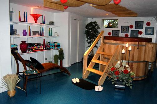 Rudolph Hot Tub Room