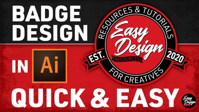 Easy Badge Design Tutorial