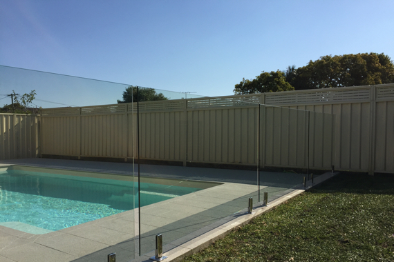 Glass Pool Fencing Clarencetown