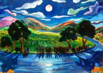 Moonlight Procession