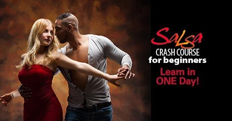 Salsa Dance Lesson 3-Hour Crash Course