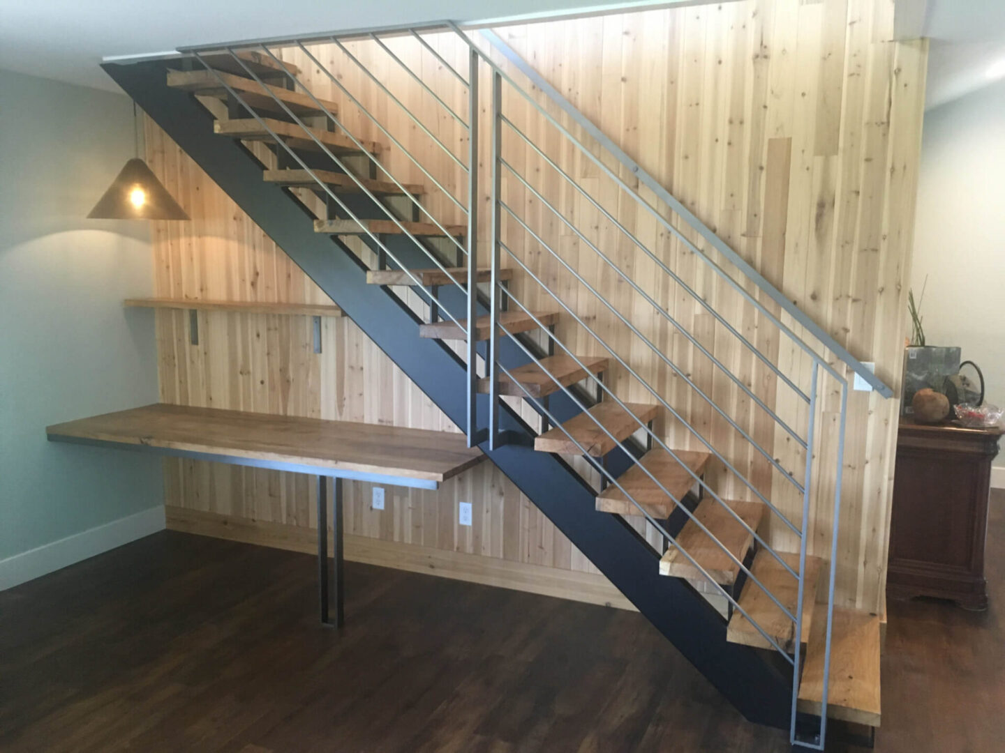Modern Cold Roll Interior Stair Rail