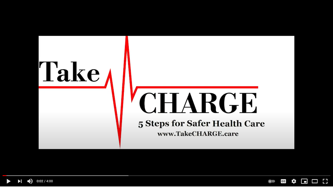Watch the TakeCHARGE Video
