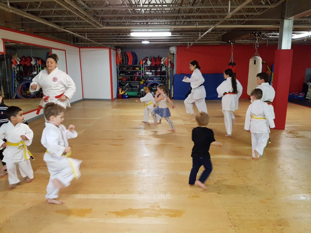Karate classes for 3-5 year olds