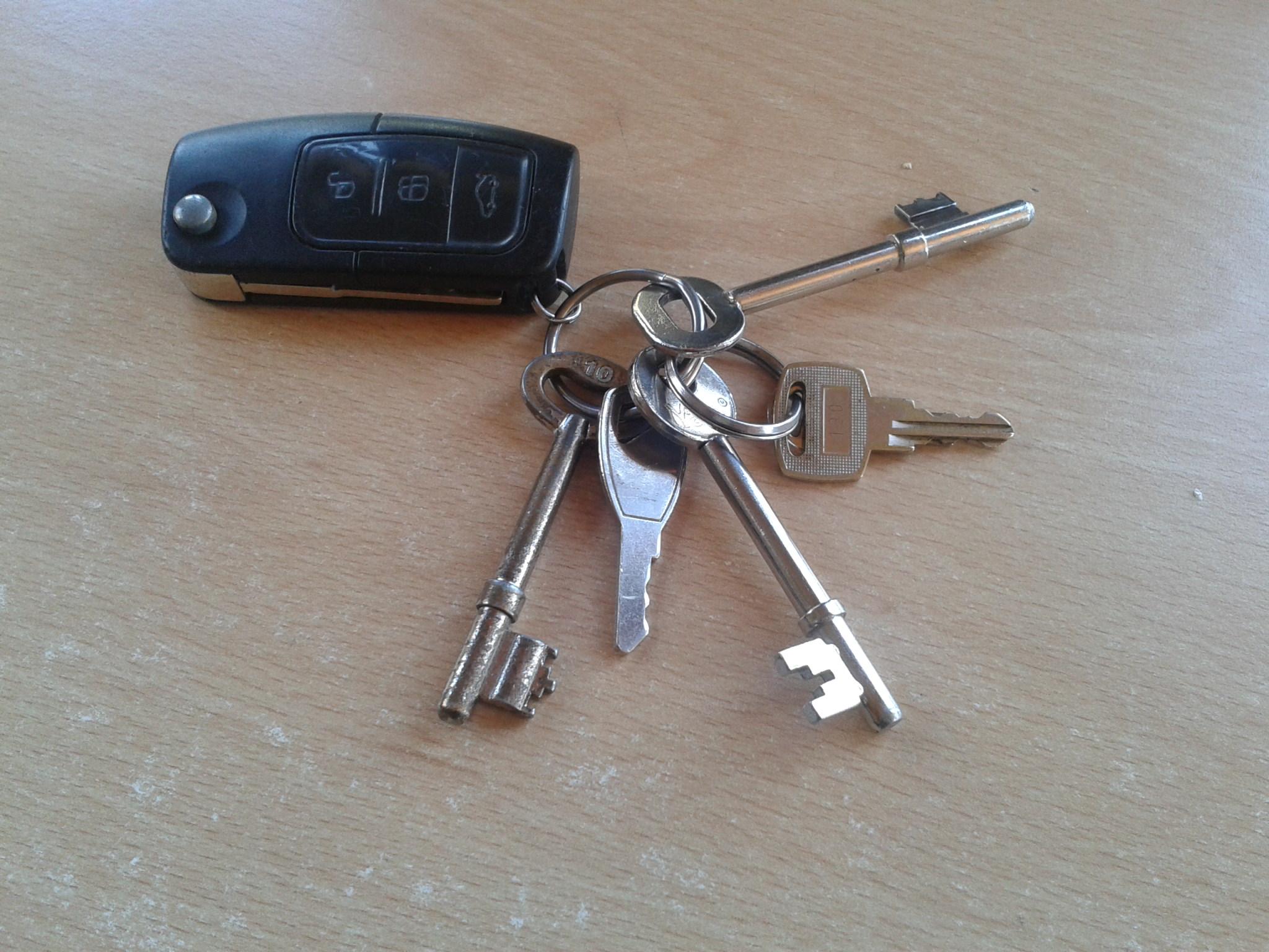 5 keys to open doors