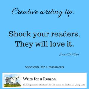 creative writing tip