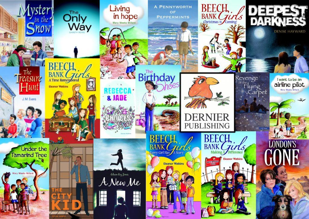 All Dernier Publishing books collage