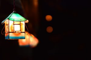lantern in the darkness