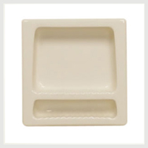 Extra Wide Recessed Soap Dish