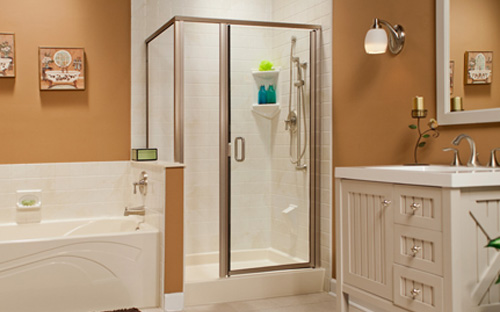 Traditional Shower Stall