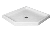 Neo-angle Commercial Shower Base