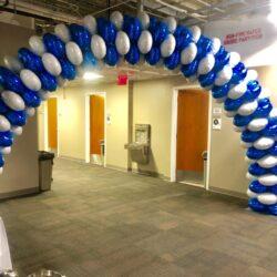 All Mylar Balloon Arch