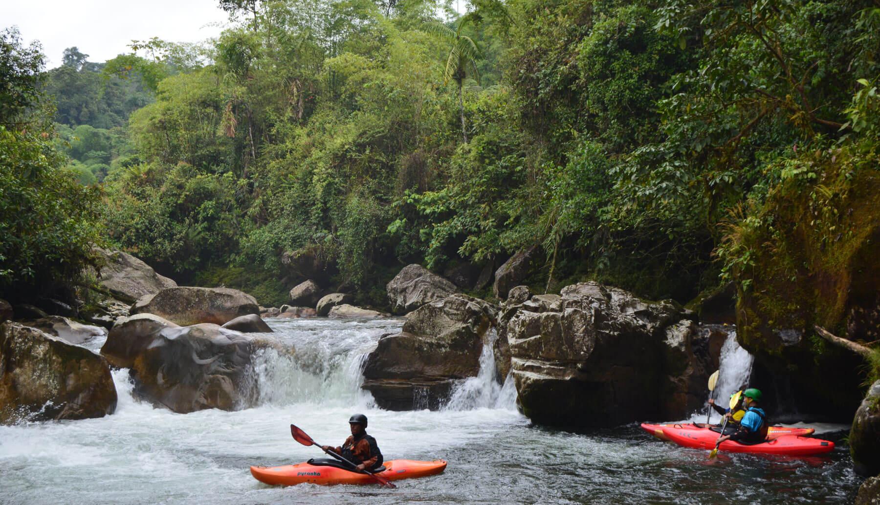 Urcusiqui river kayak guided Trip   Ecuador Whitewater
