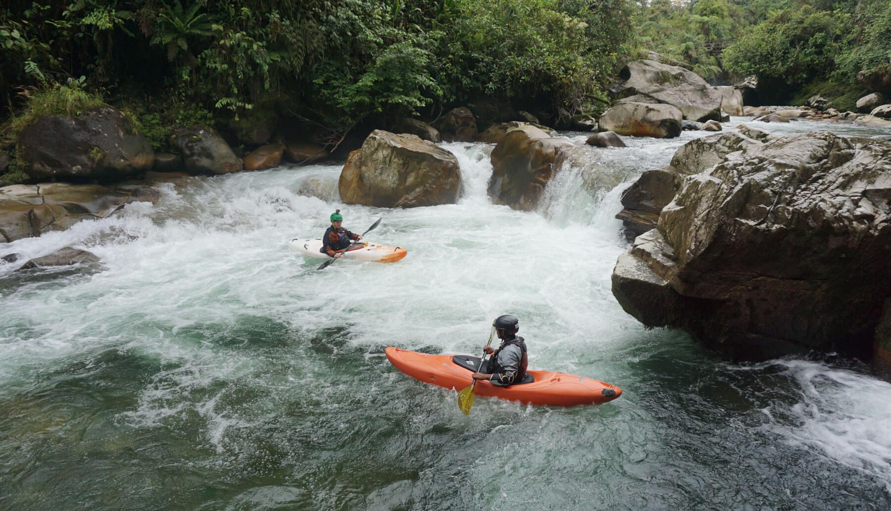 Urcu Siqui river Ecuador   whitewater ecuador
