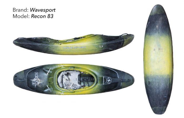 Kayak Rent Ecuador   Wavesport kayaks for rent in Ecuador