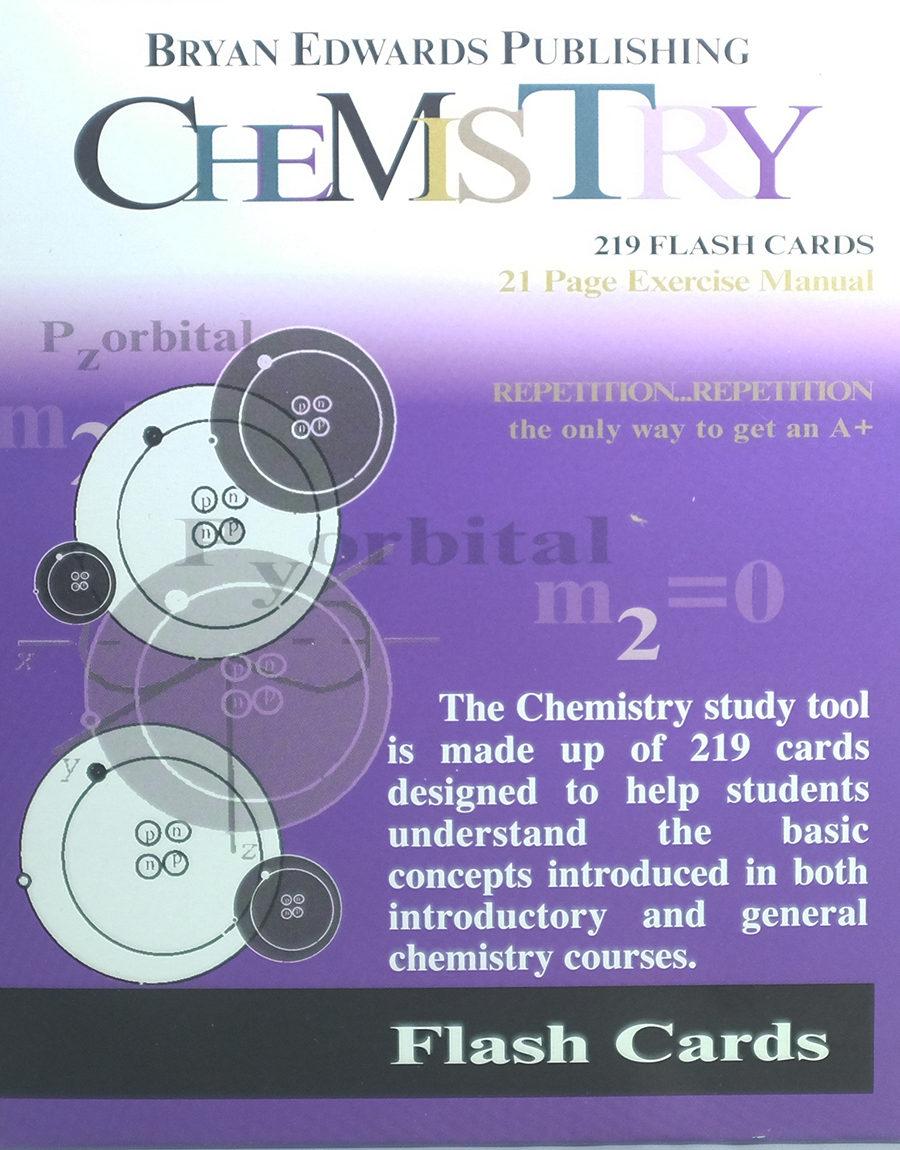 Chemistry flash cards - bryanedwards.com
