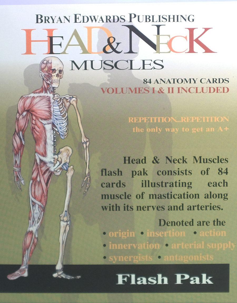 Head & Neck flash cards - bryanedwards.com