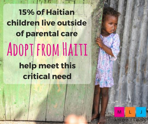 15% of Haitian children live outside of parental care