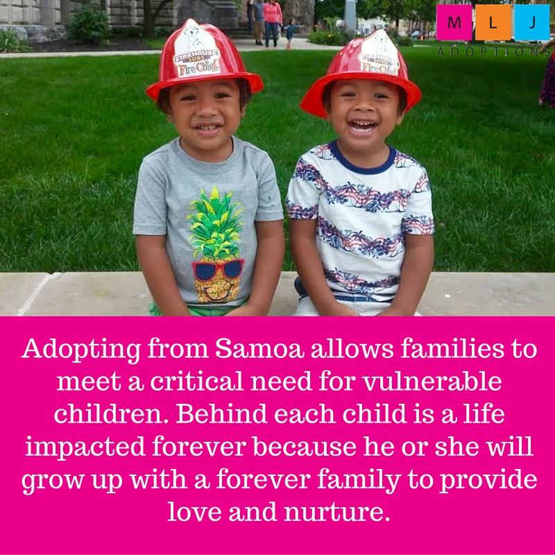 adopting from samoa