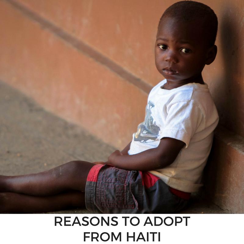 Reasons to Adopt from Haiti