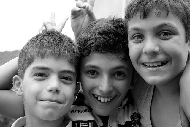 Romani child adoption
