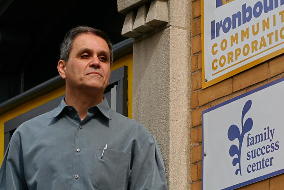 Joe Della Fave Executive Director Ironbound Community Corp