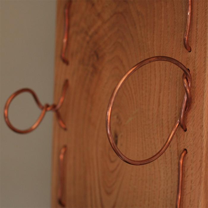 Copper Wine Rack Left 3
