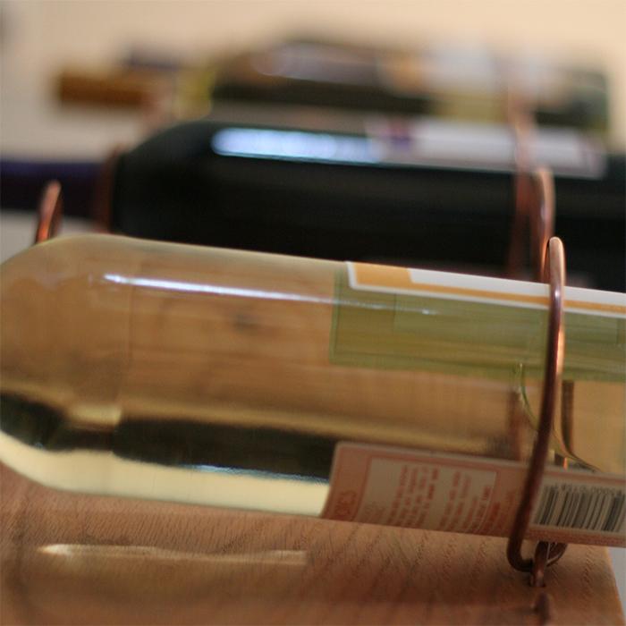 Copper Wine Rack Left 4