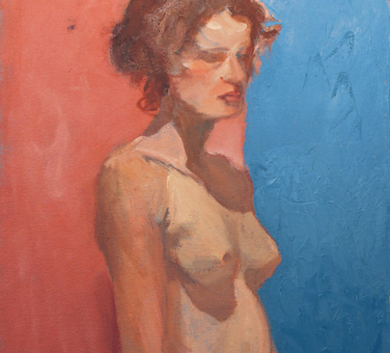 Summer Hat Oil Painting