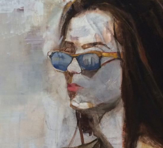 Her Generation Oil Painting