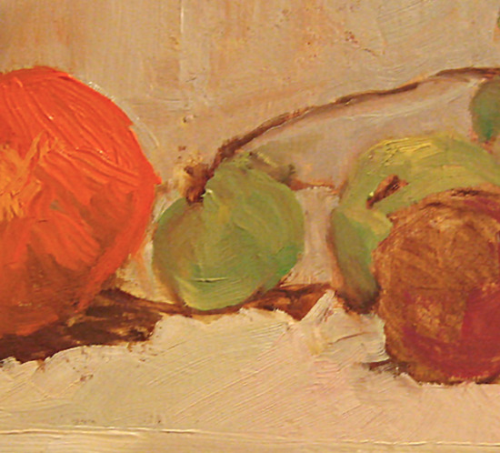 Still Life with Grapes Oil Painting