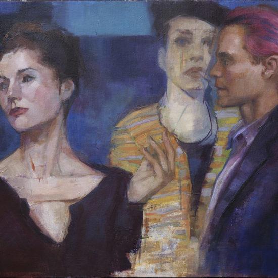 Stranger Oil Painting