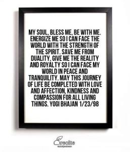 every day prayer yogi b