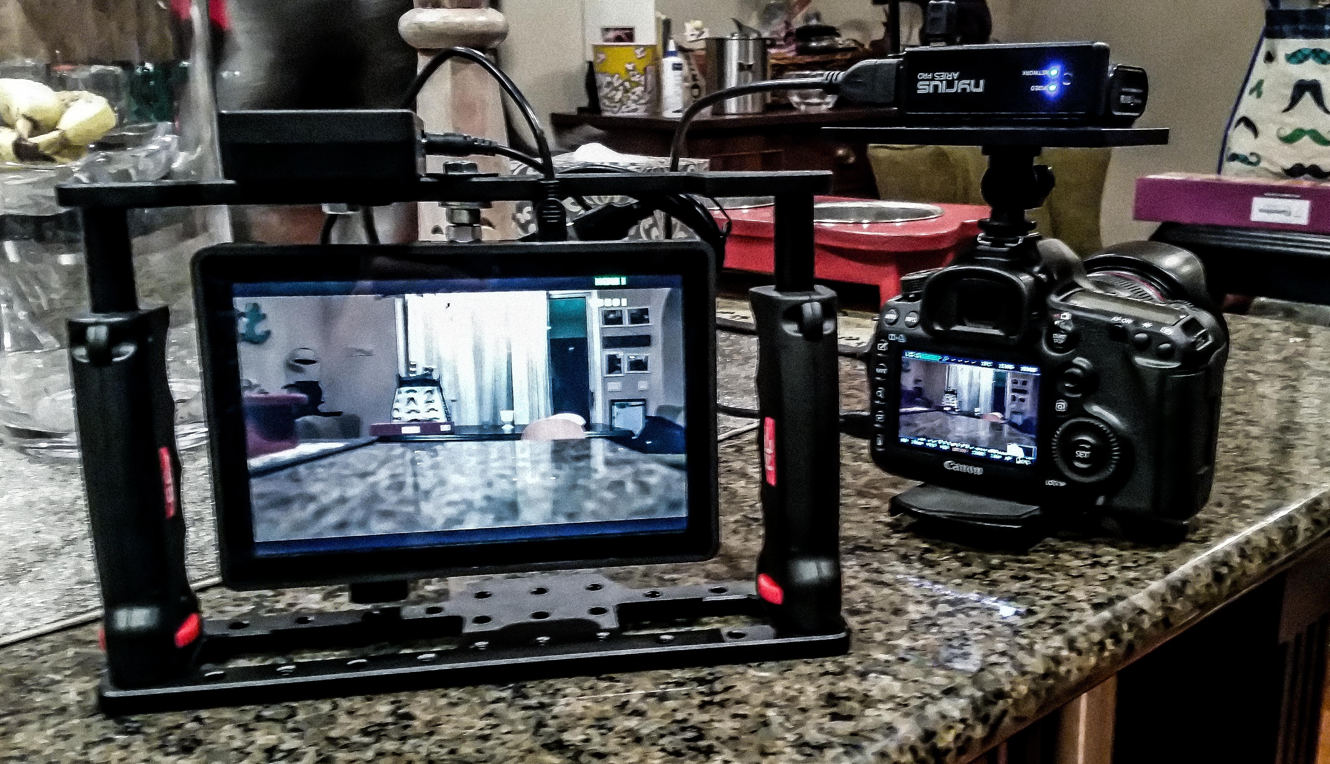 Wireless Directos Monitor - SmallHD - Nyrius - PNC