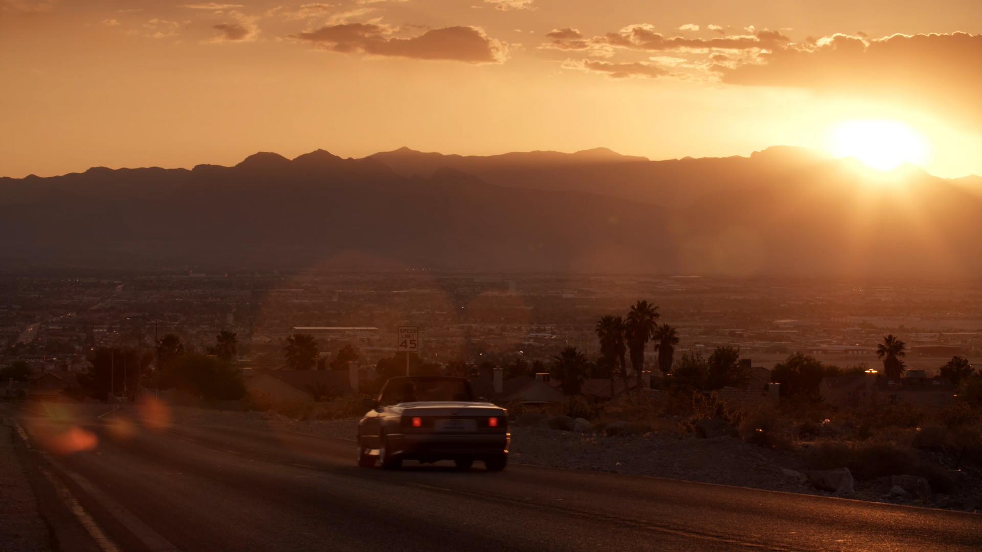 Sunset BMW 3 Series