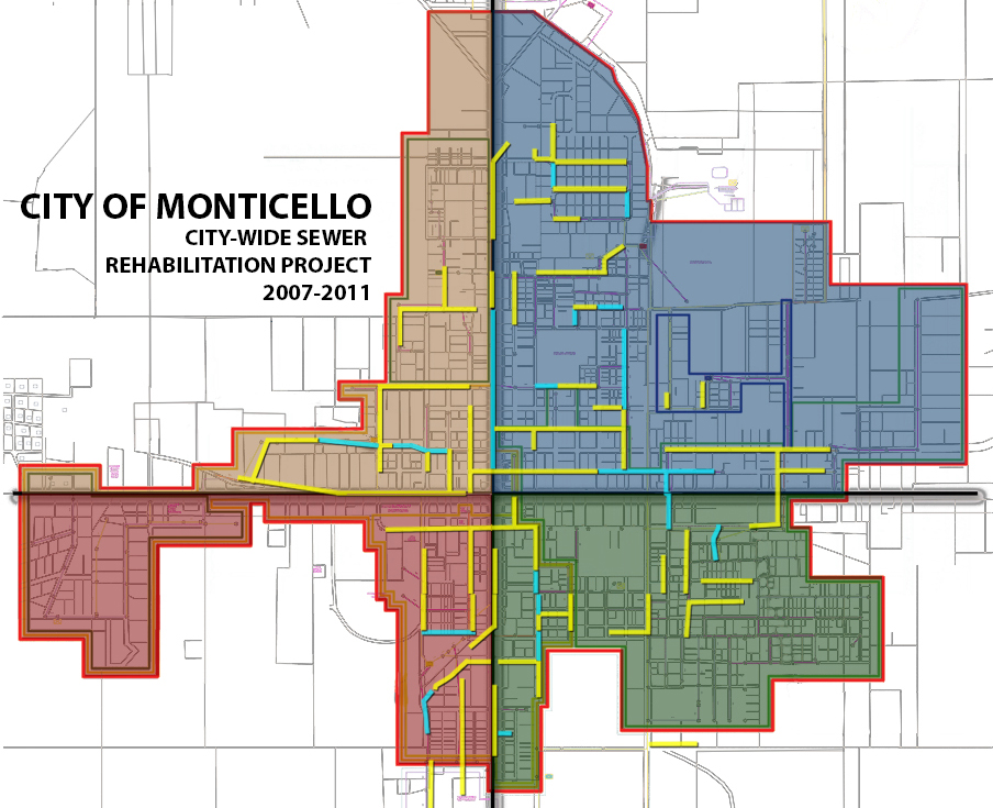 CITY WIDE MONTICELLO SEWER IMPROVEMENTS