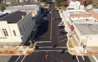 SR 12 in Quincy Aerial