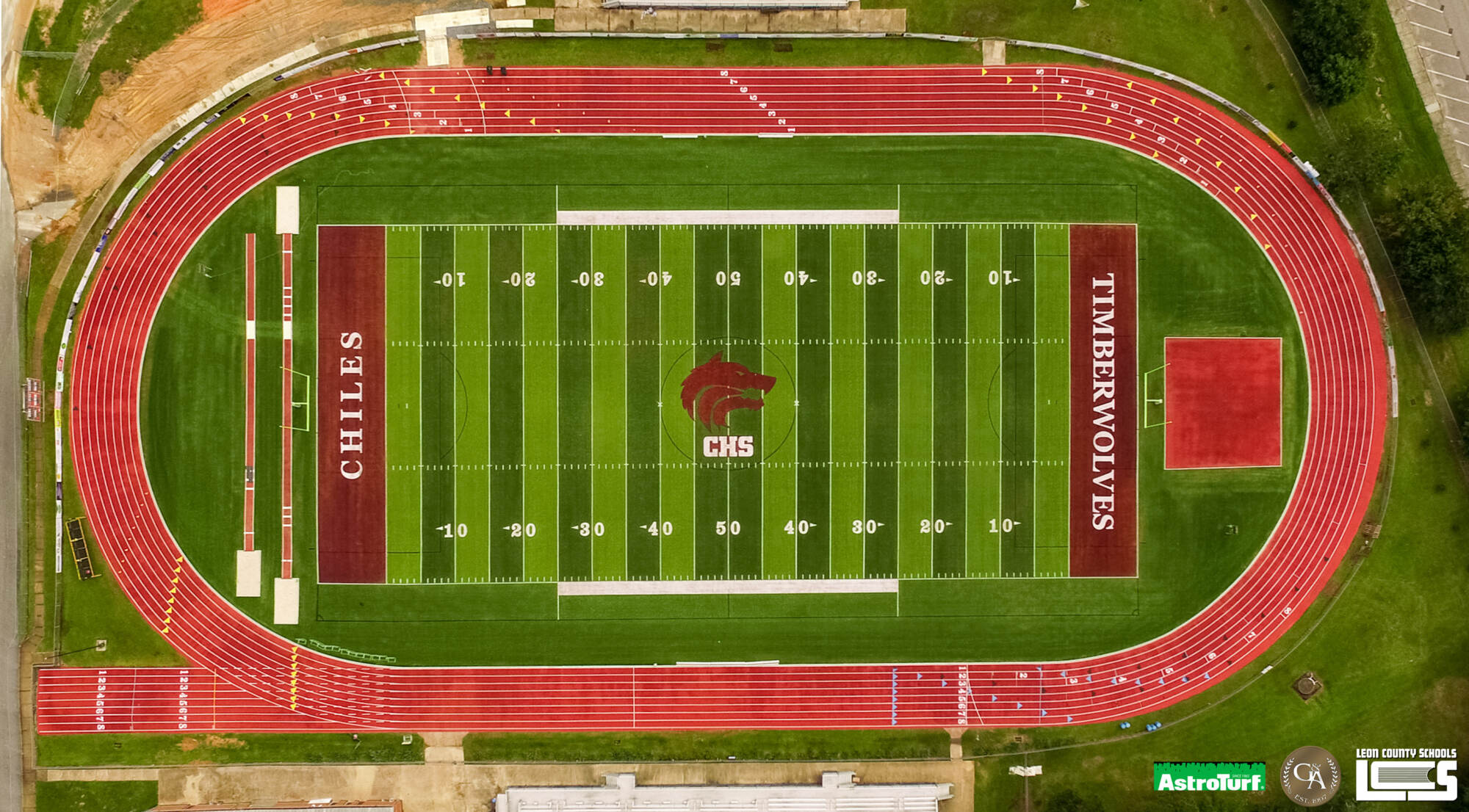New AstroTurf at Chiles High School