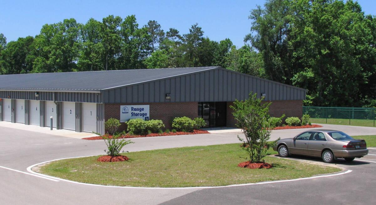 Ammunition & Vehicle Storage Facility
