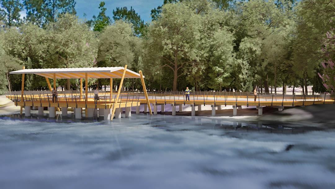 Conceptual Rendering of Boardwalk
