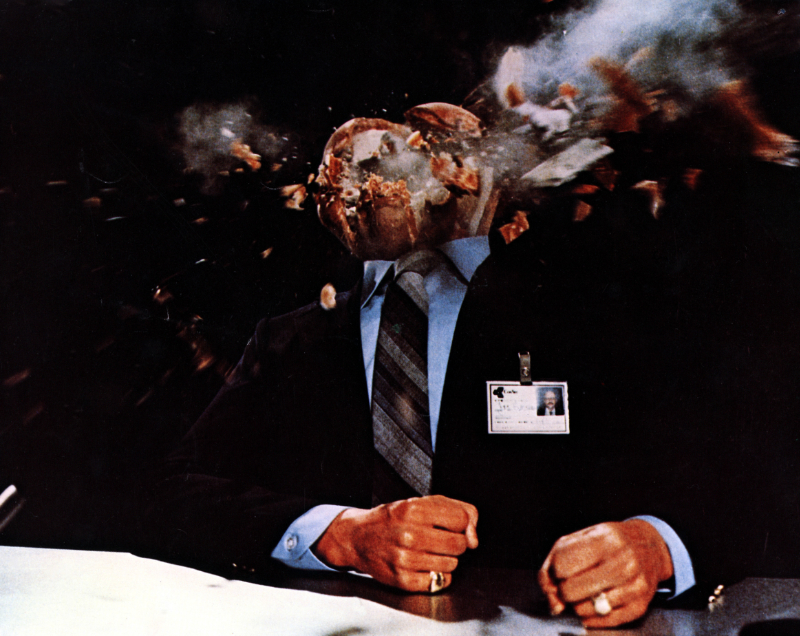 Scanners exploding head