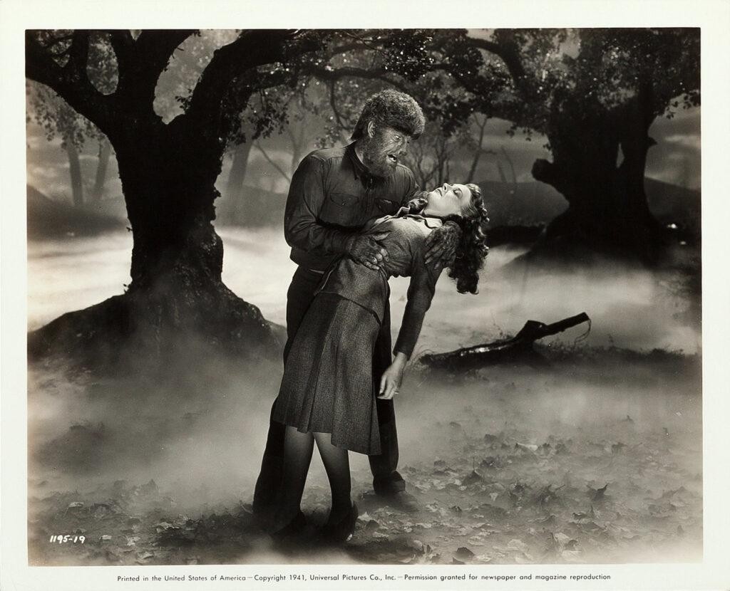The Wolfman 1941 — full moon werewolf attack!