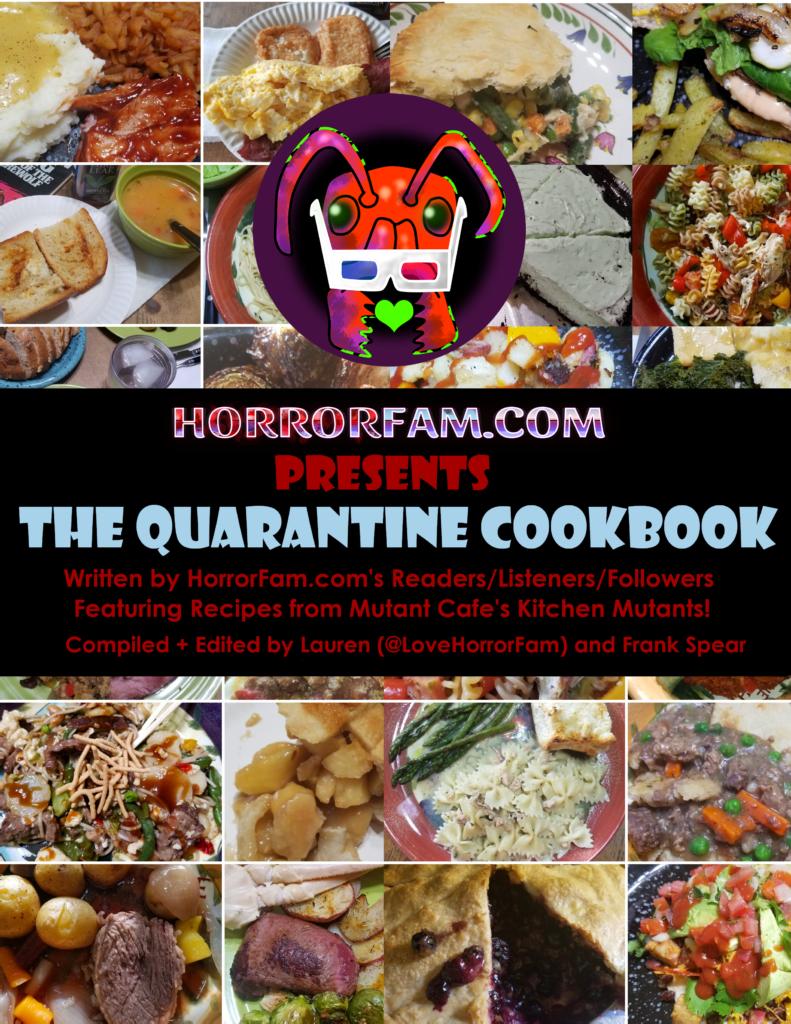 Quarantine Cookbook cover art