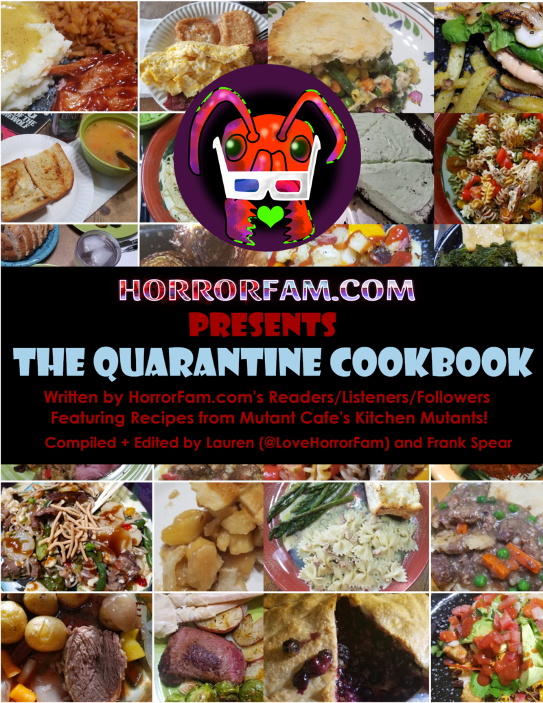 The Quarantine Cookbook cover
