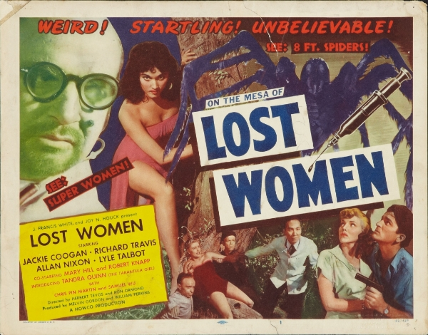 poster for Mesa of Lost Women 1953