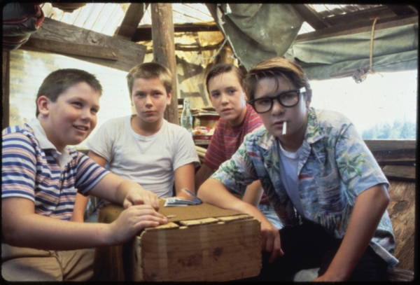 the main kids in Stand by Me